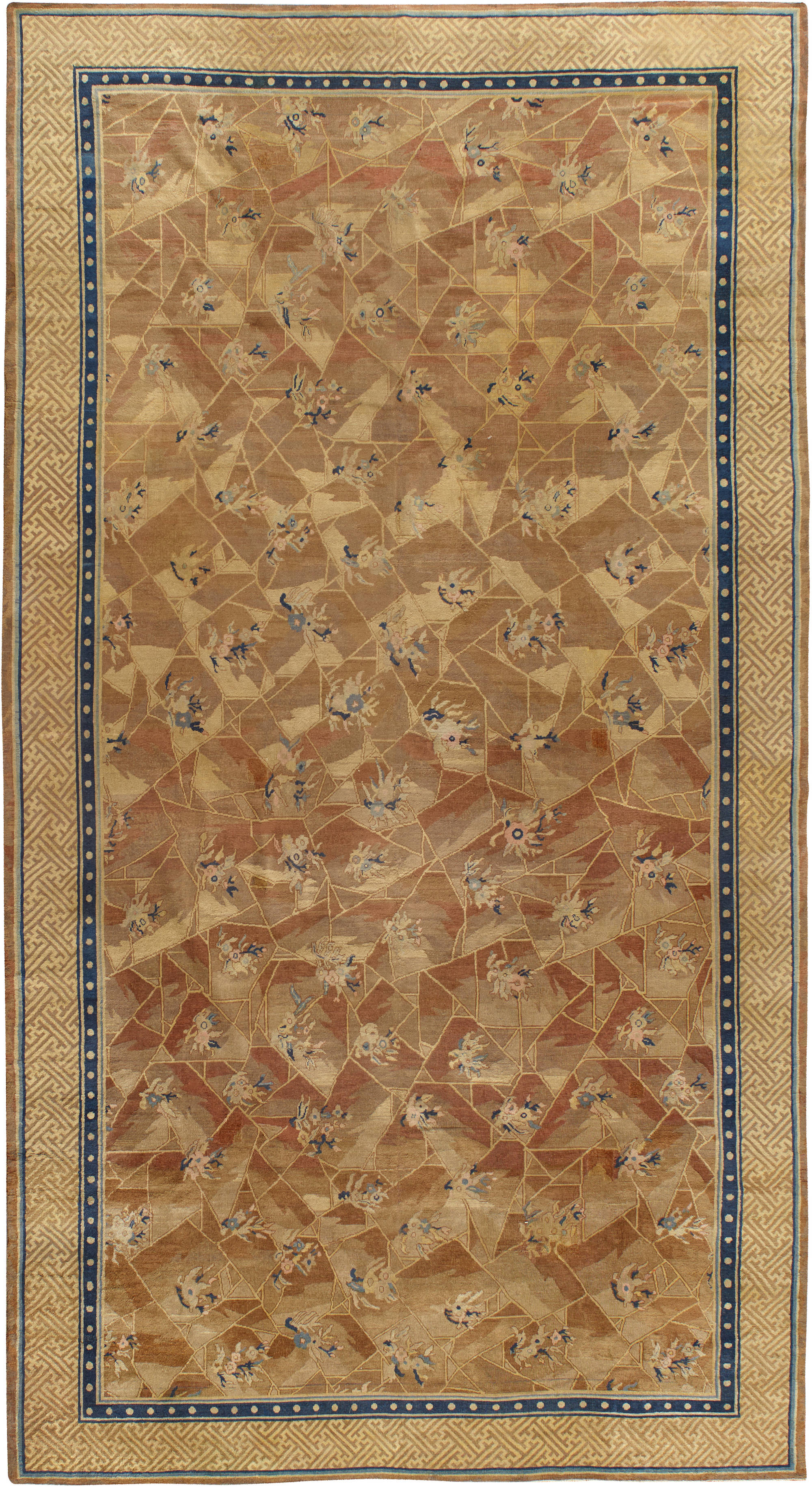 Antique Chinese Rug BB4325