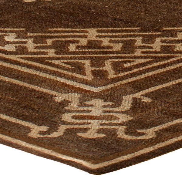Vintage Mongolian Carpet BB3593