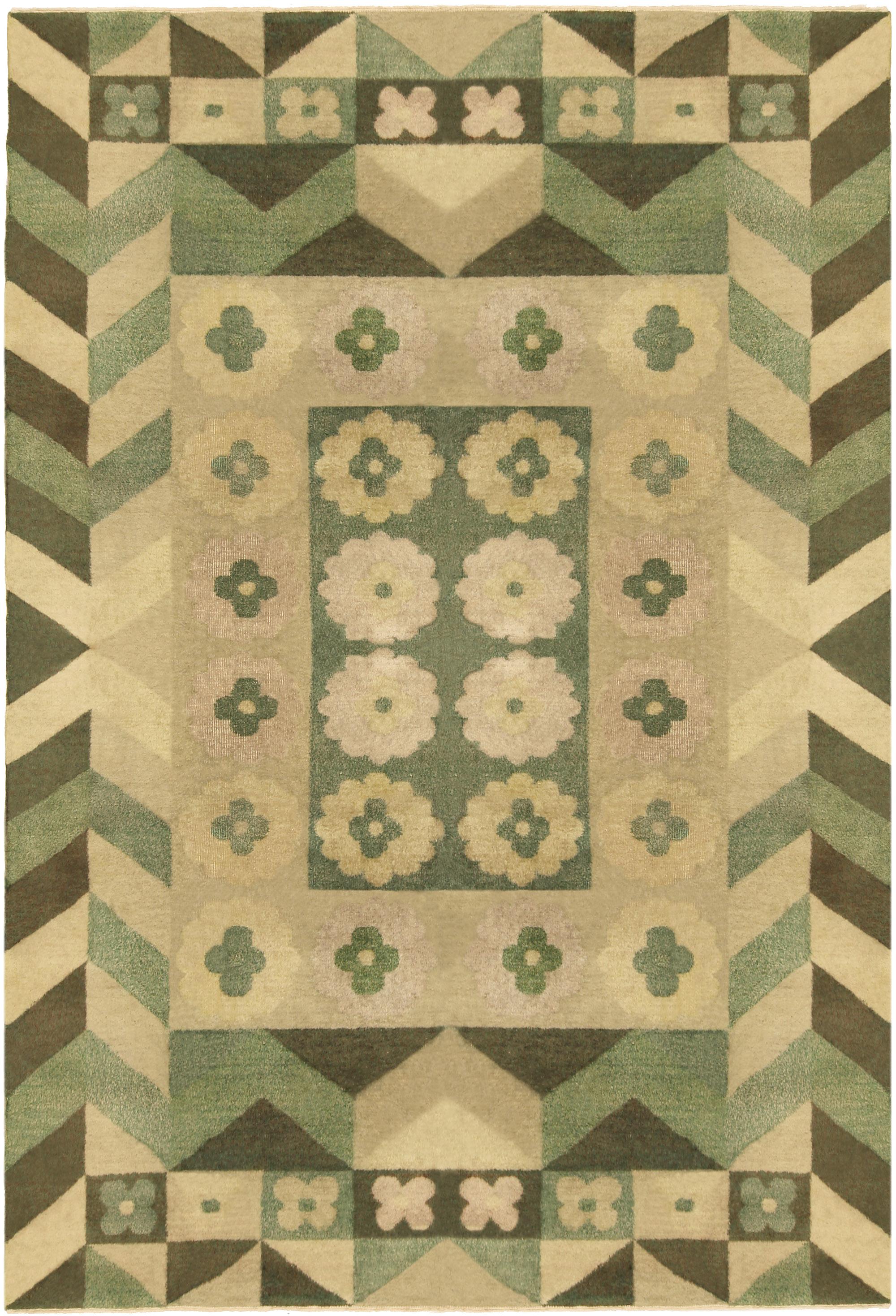 Vintage Deco Carpet BB5190