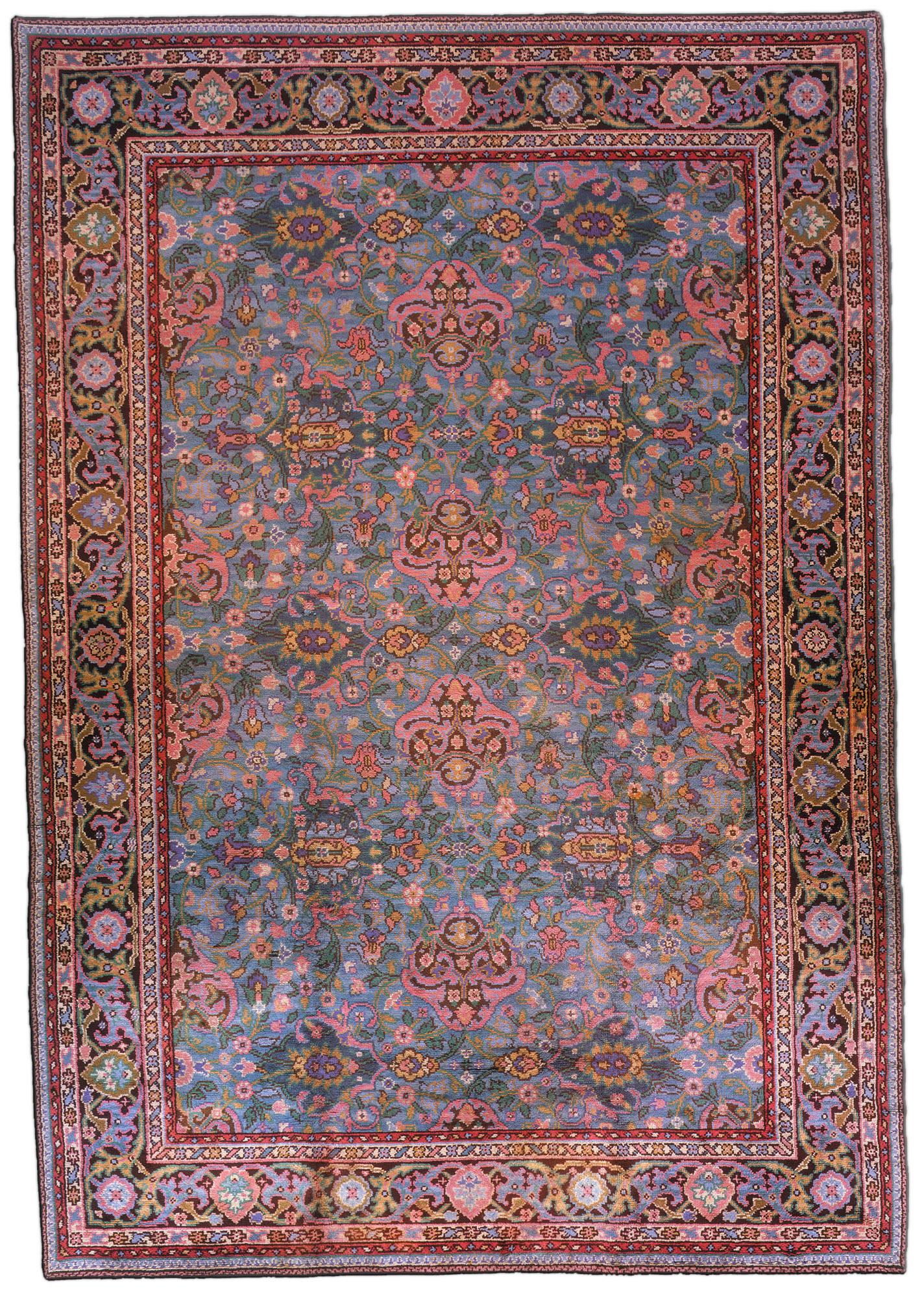 Vintage Irish Donegal Carpet Bb1148