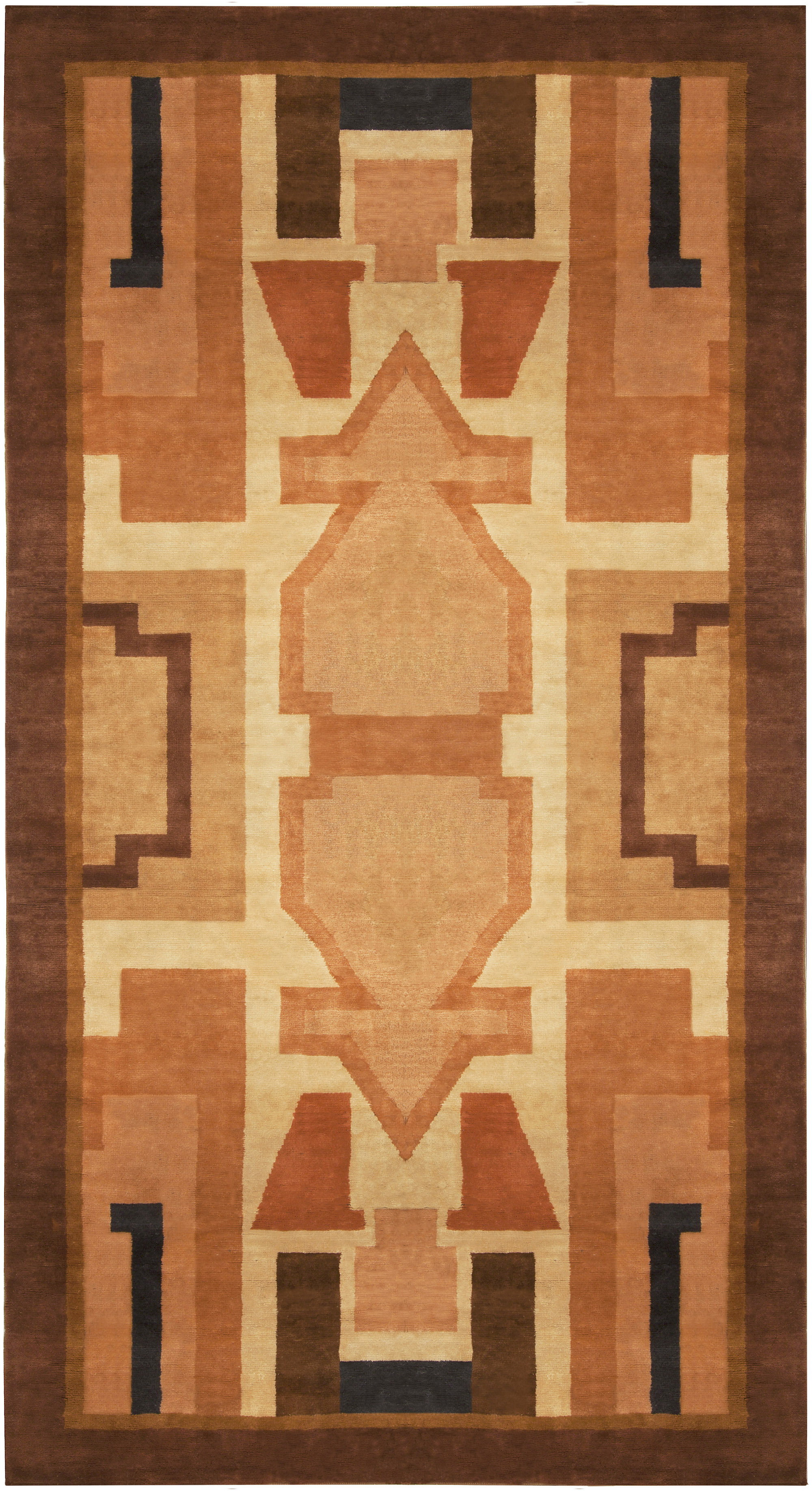 Vintage French Deco Rug BB5026