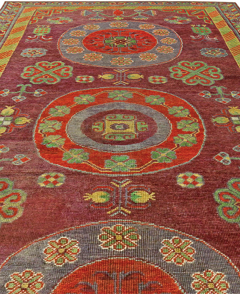 Vintage Samarkand Carpet BB5837