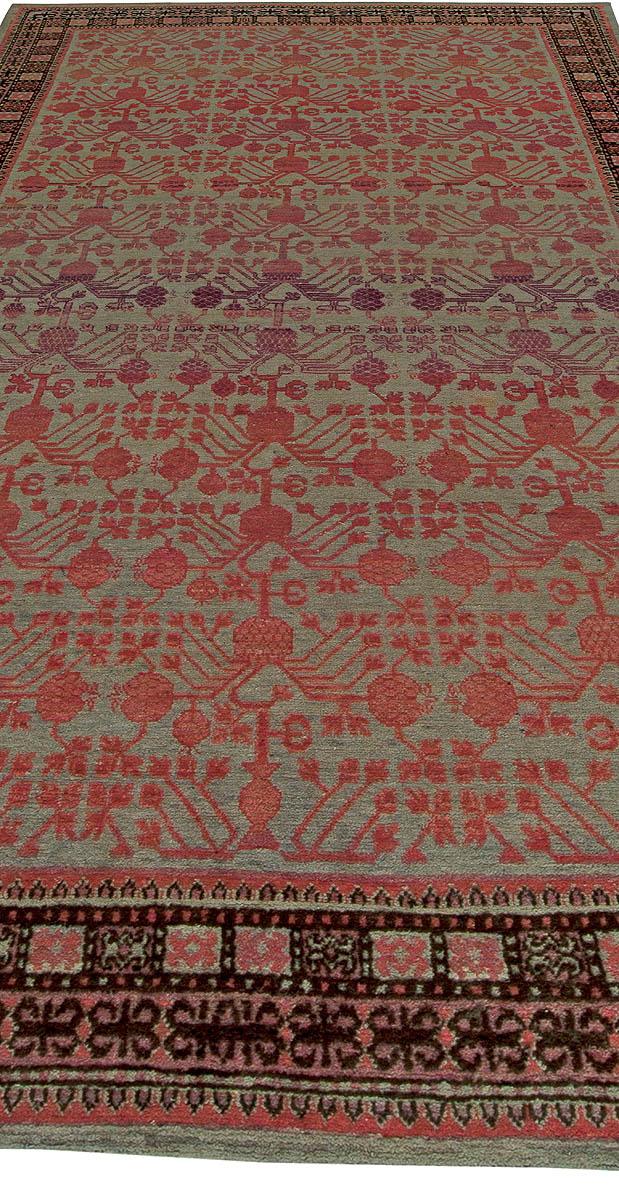 Vintage Samarkand Khotan Rug BB5876