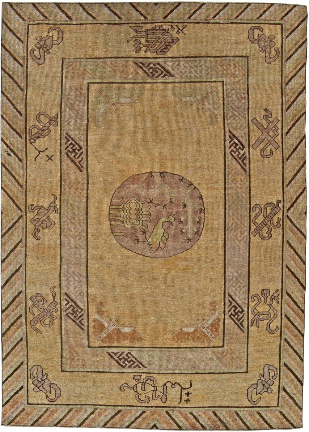 Vintage Samarkand Rug BB5836