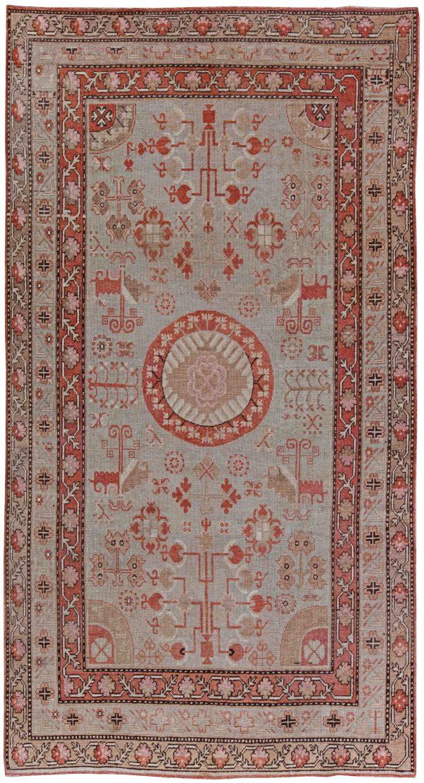 Vintage Samarkand Rug BB6095