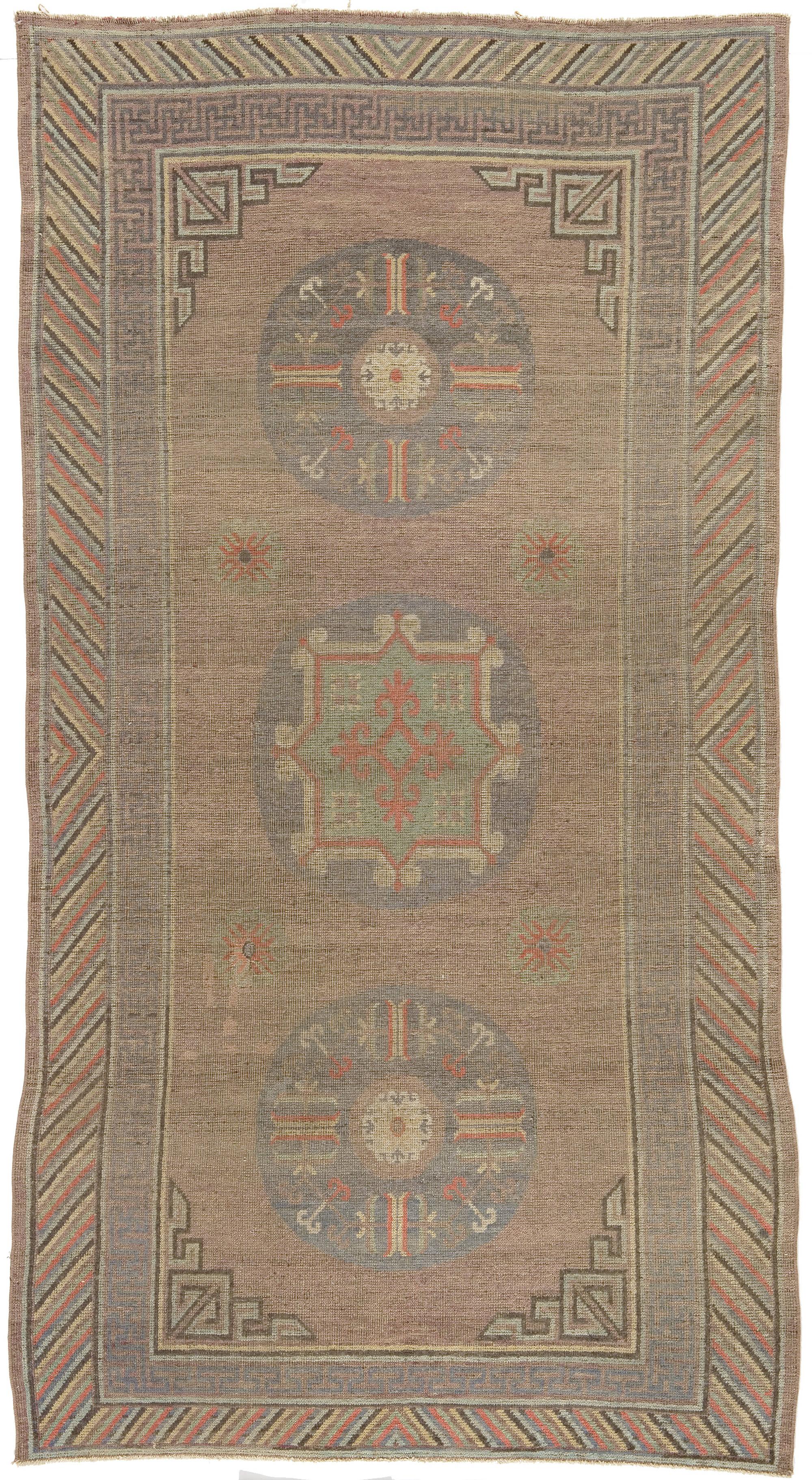 Vintage Samarkand (Khotan) Rug BB4368