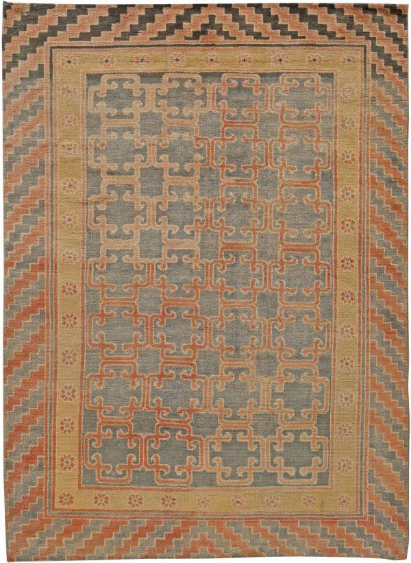 Samarkand - Um tapete tradicional N10918