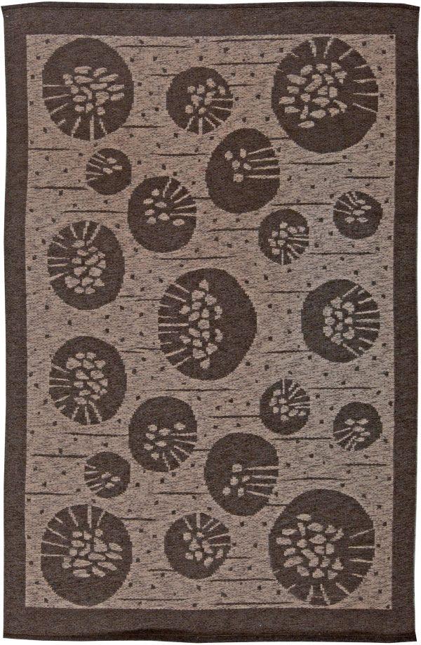 Vintage-Schwedisch Double Flat Weave von Orsa BB5679 Sided