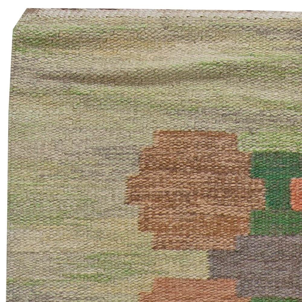 Vintage Swedish Flat Weave by Judith Johanson BB5688