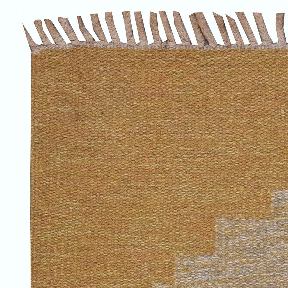 Vintage Swedish Flat Weave Rug BB6182