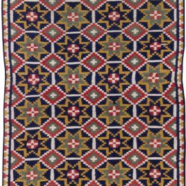 Vintage Swedish Flat weave Runner BB6250