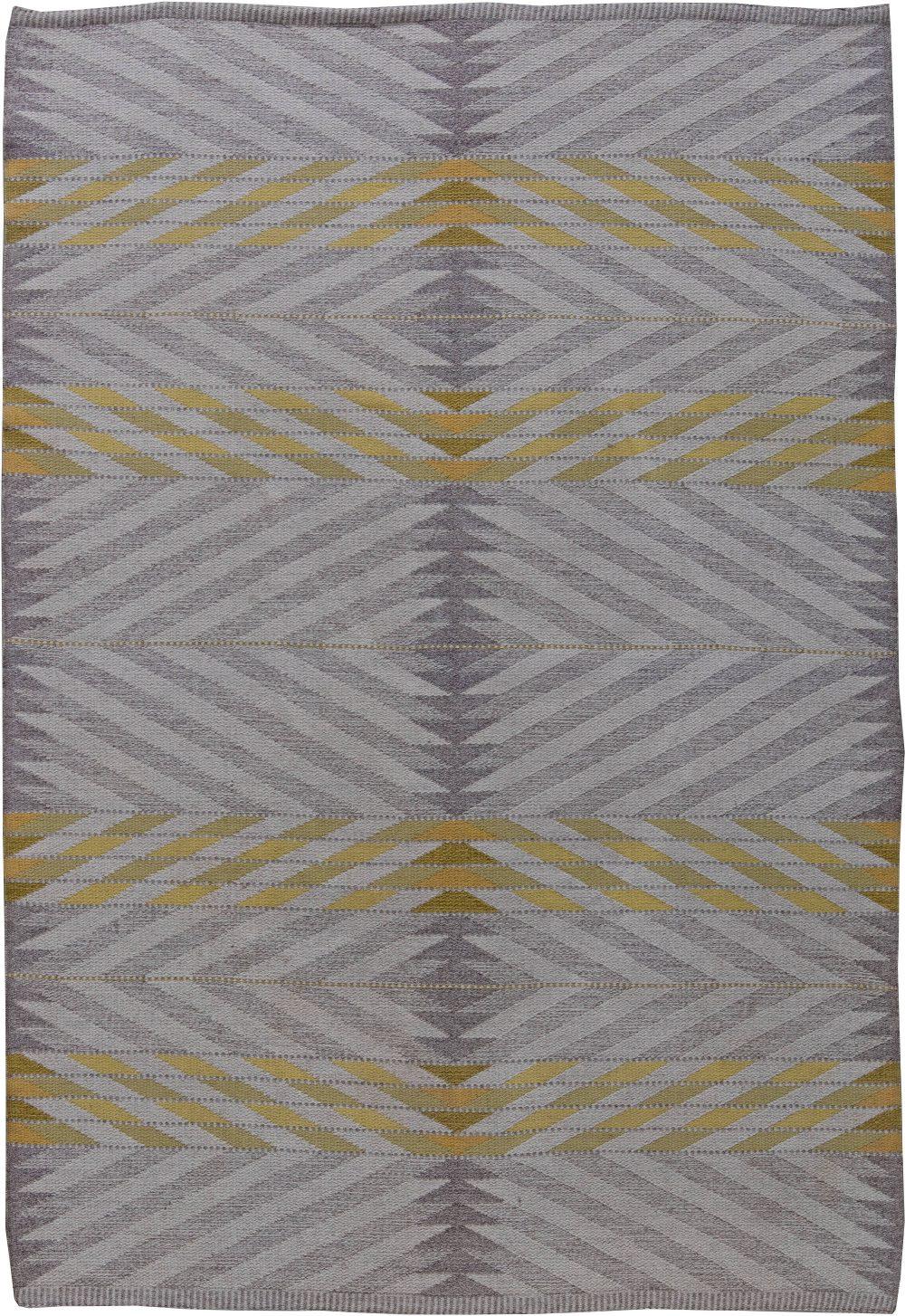 Vintage Swedish Flat Weave by Ingrid Dessau BB6200