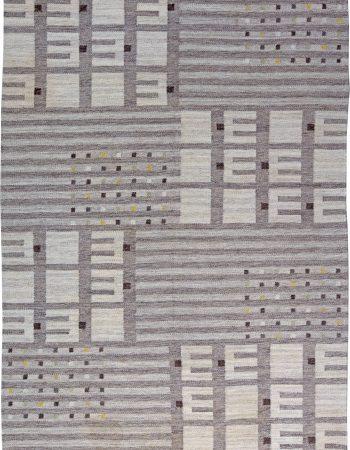 Vintage Swedish Flat Weave Rug BB6190