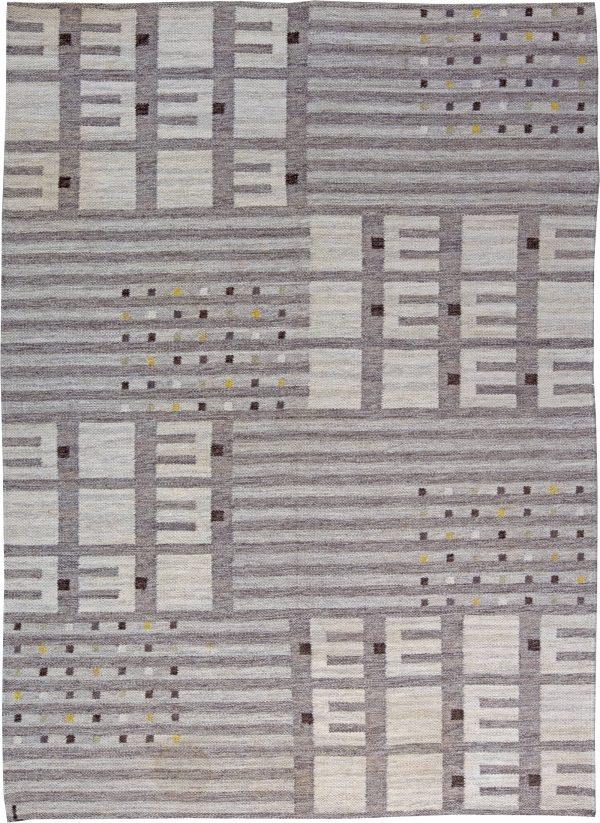 Weinlese-schwedische Flachgewebe Teppich BB6190