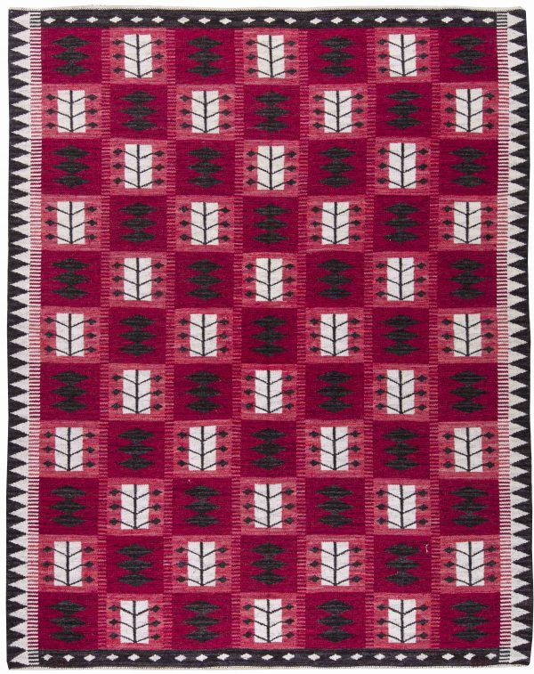 vintage Swedish Flat weave by Berit Koenig BB6244