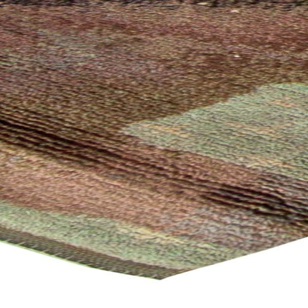 Vintage Swedish Pile Rug BB5855