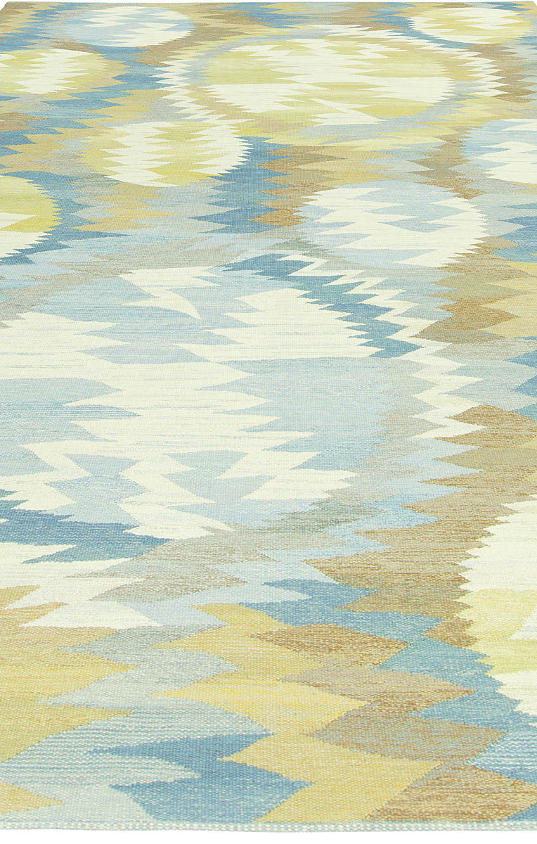 Vintage Swedish Tapestry Woven by MMF Solfläckar BB6114