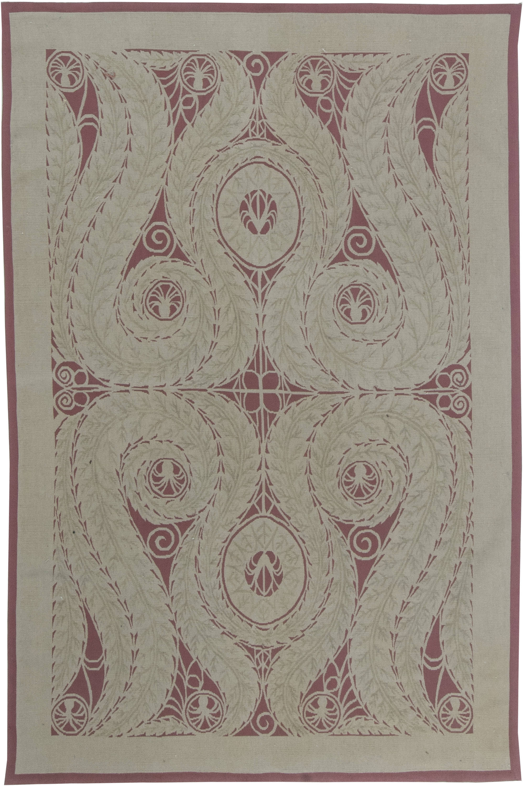 Viennese Design  Flat Woven  Rug N11511