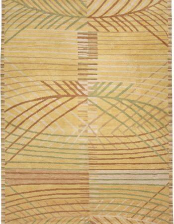Scandinavian inspirierten tibetischen Teppich N10965