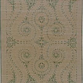 Art Deco Style Rug N10791