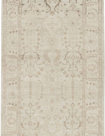 Traditional inspired Tabriz Runner N11664