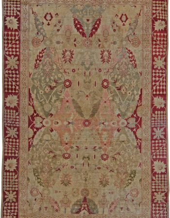 Turco Hereke Antique Rug BB5636