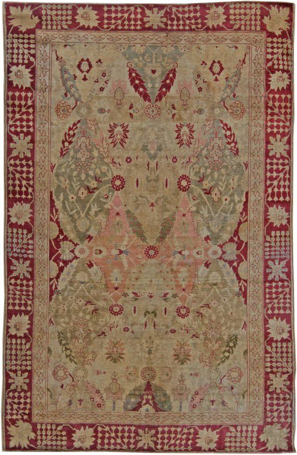 Turkish Hereke Antique Rug BB5636
