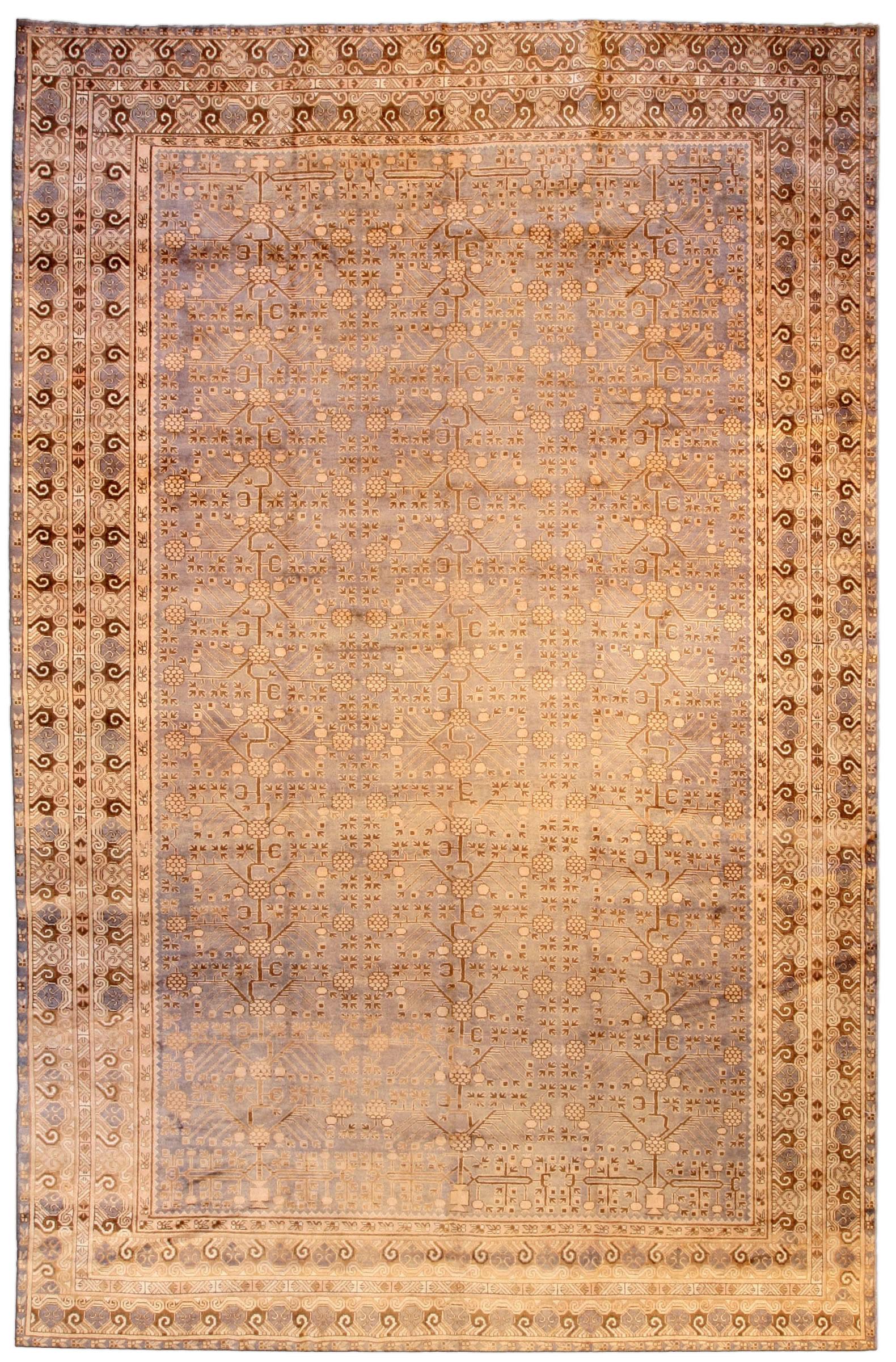 Vintage Samarkand (Khotan) Carpet BB3966