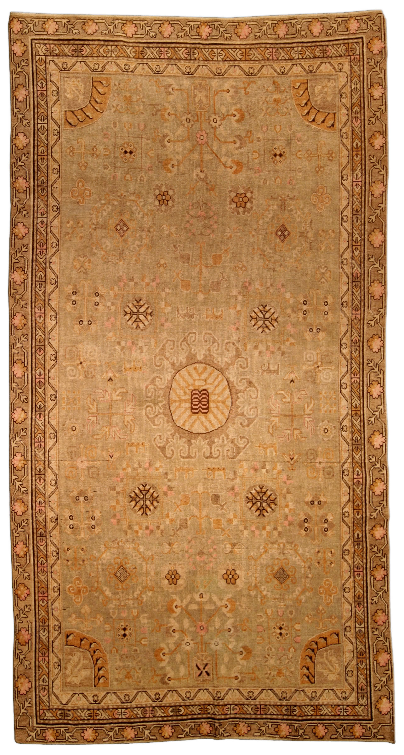 Vintage Samarkand (Khotan) Carpet BB4350