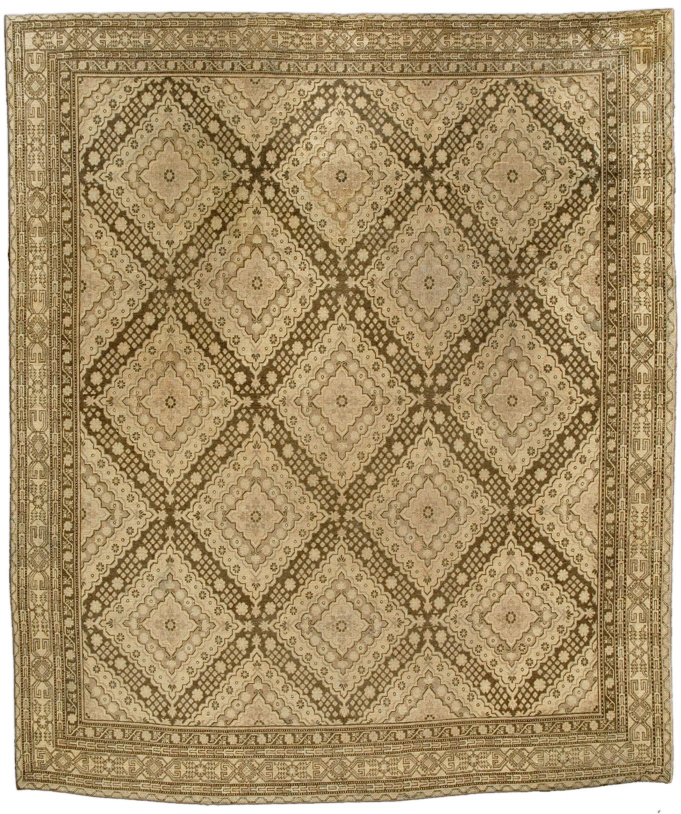 Vintage Samarkand (Khotan) Rug (size adjusted) BB4378