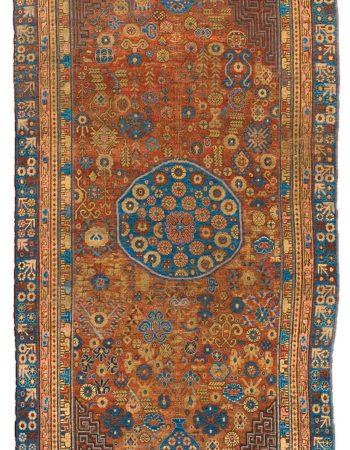 Vintage-Samarkand (Khotan) Rug BB4397