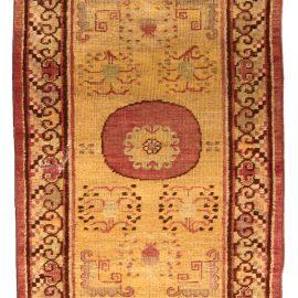 Vintage Samarkand Khotan Hand Knotted Wool Rug BB4439