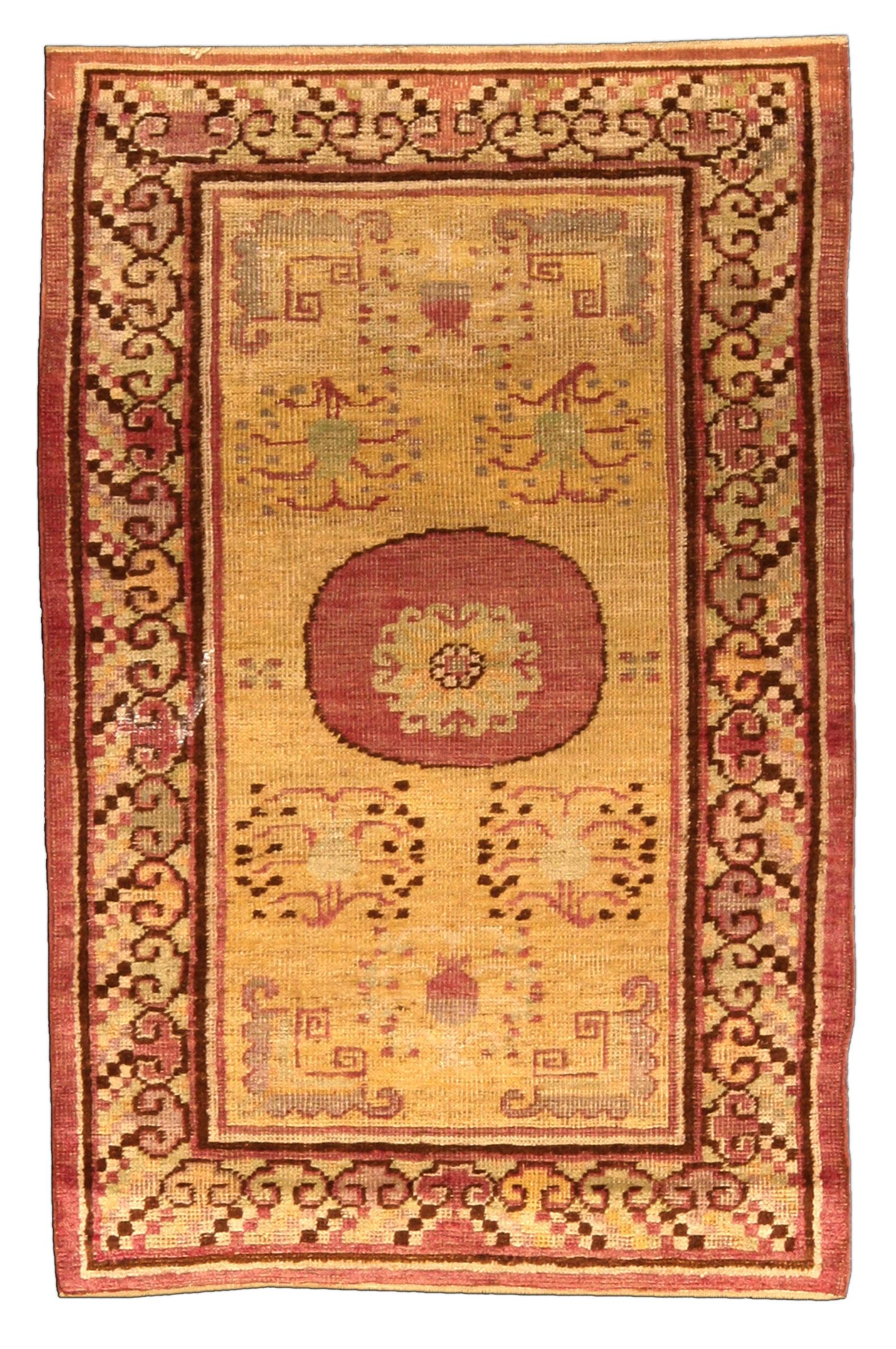 Vintage Samarkand Khotan Rug Bb4439 By Doris Leslie Blau