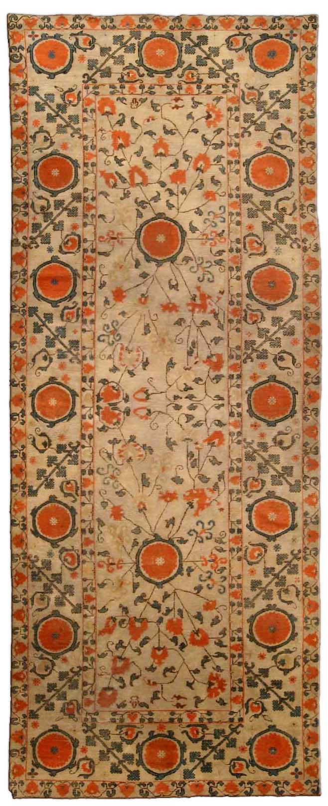 Vintage Samarkand (Khotan) Carpet BB4256