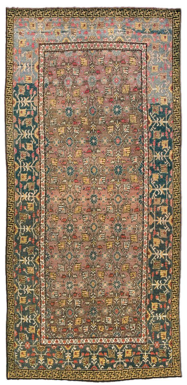 Samarkand (Khotan) Rug BB4392 Vintage