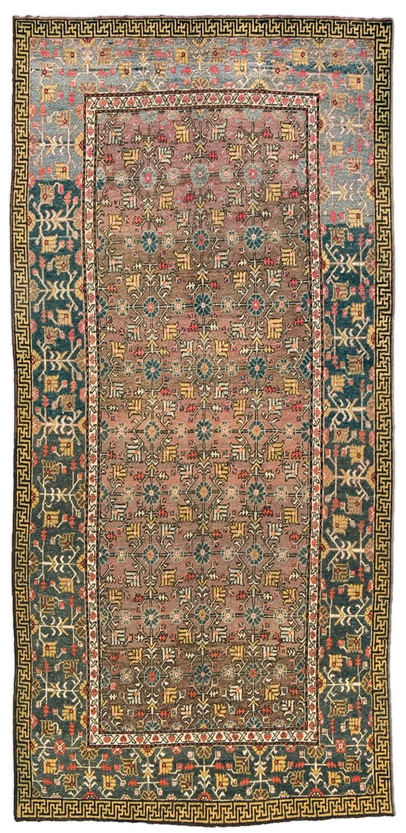 Vintage Samarkand (Khotan) Rug BB4392