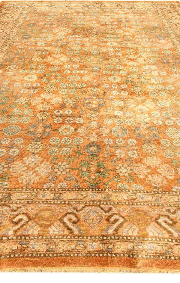 Vintage Silk Samarkand (Khotan) Rug BB4165