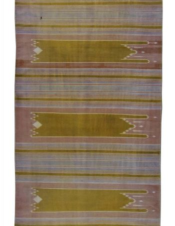 Vintage Indian Dhurrie Runner BB5891