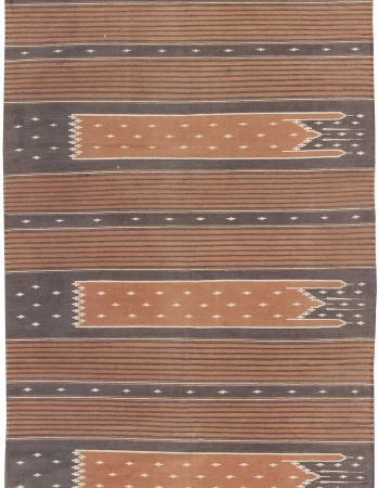 Vintage Indian Dhurrie Runner BB6285