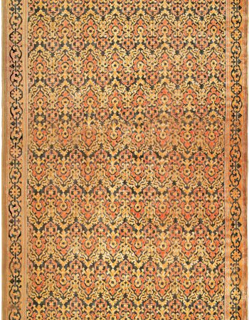 Large Kirman Antique Rug BB6046