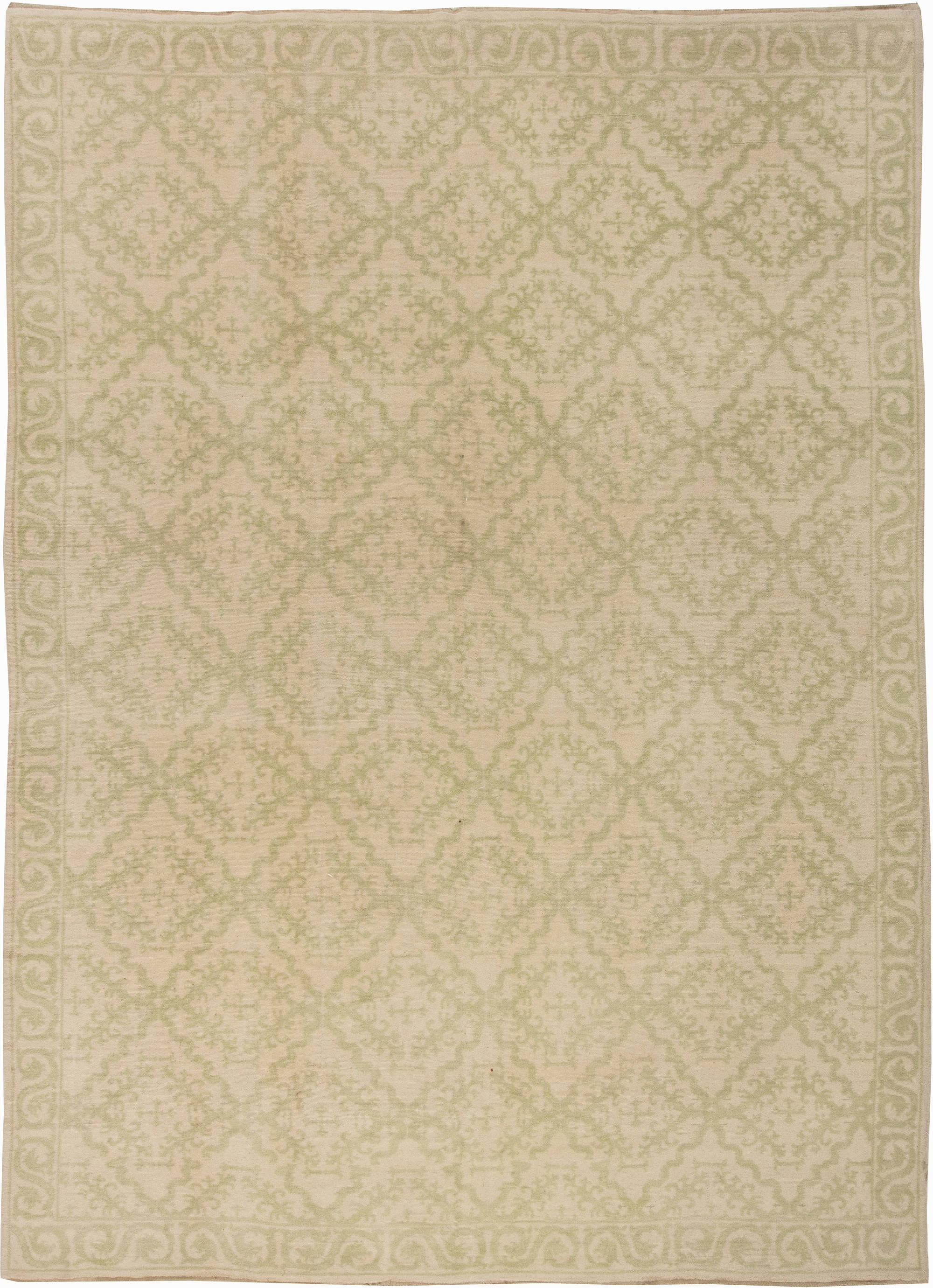 Vintage Spanish Carpet Bb2885 By Doris Leslie Blau
