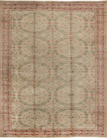 Vintage spanischen Teppich (Größe angepasst) BB2525