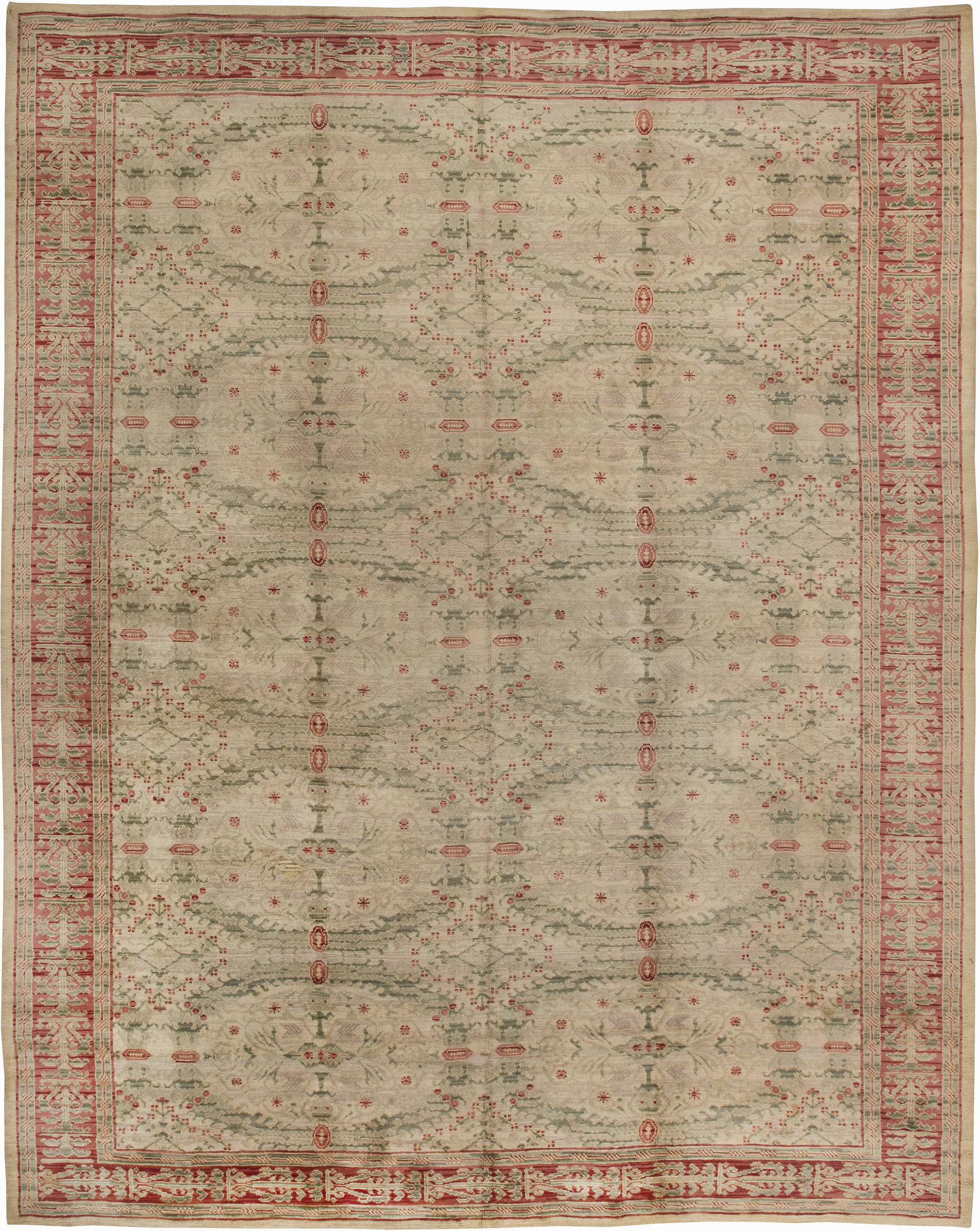 Vintage Spanish Carpet (size adjusted) BB2525