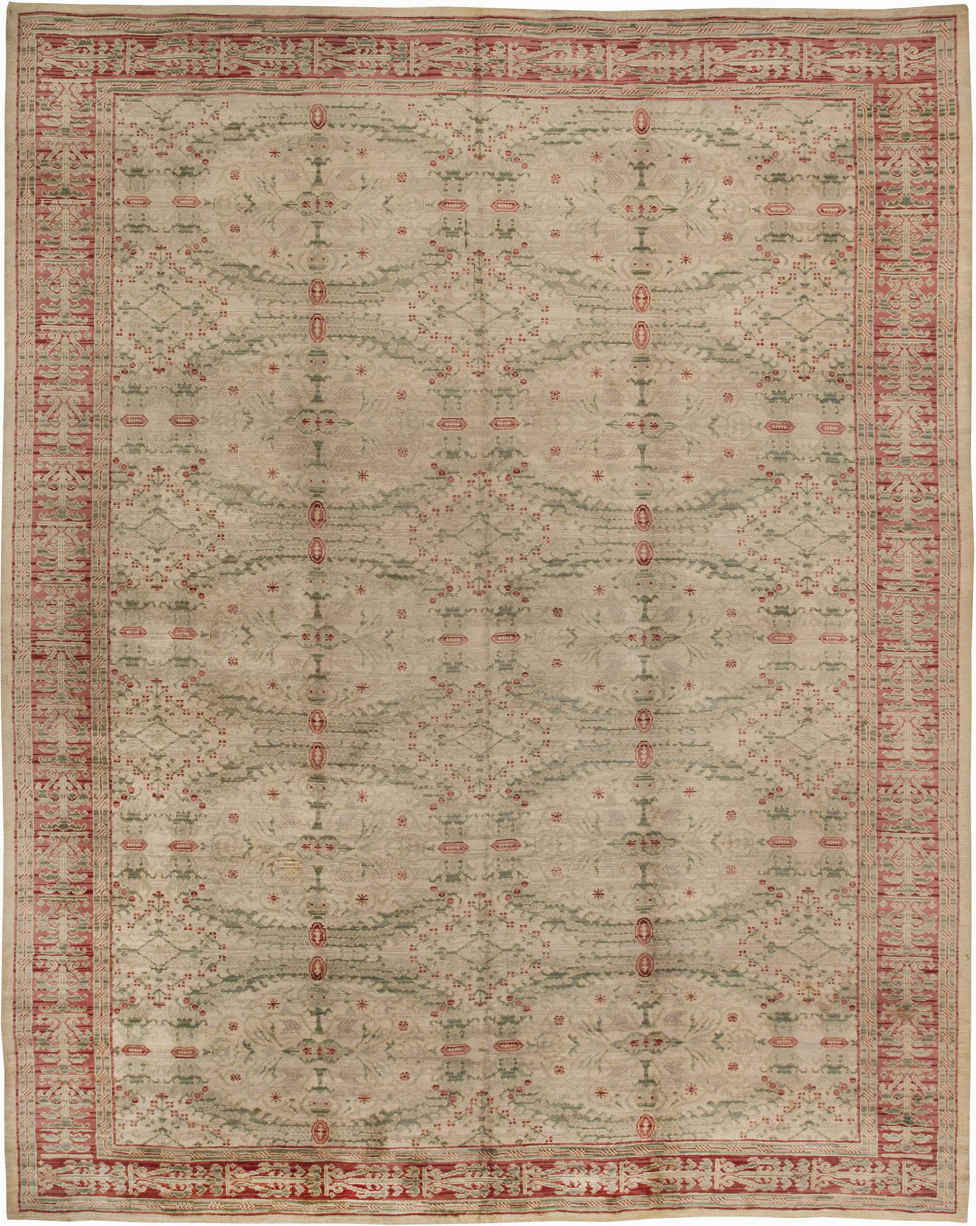 Vintage Spanish Carpet (size adjusted) BB2525