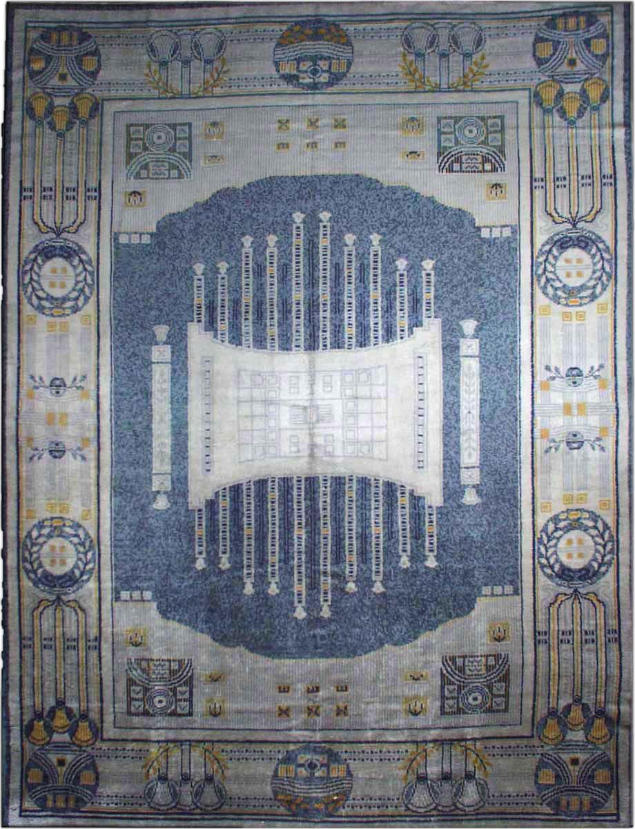 Vintage Viennese Carpet BB1895