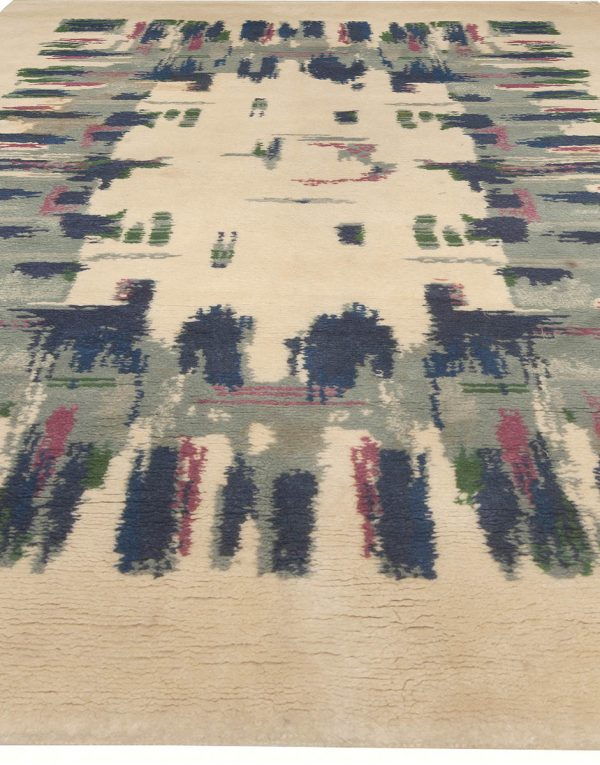Vintage French Deco Rug BB5031
