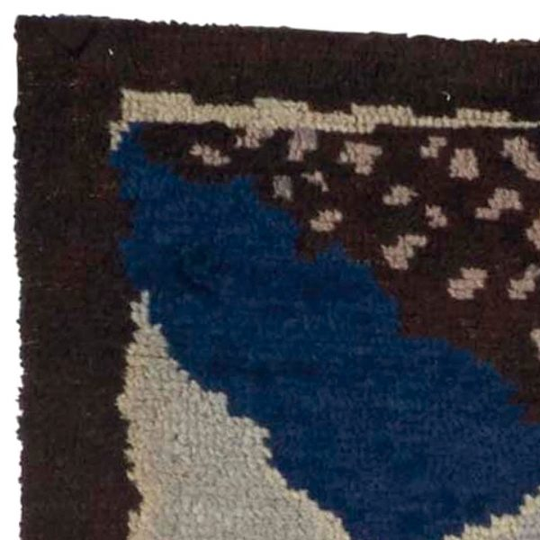 Vintage French Deco Rug by Jean Bukhalter for D.I.M. BB5374