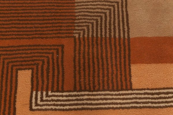 Vintage French Deco Rug BB5963