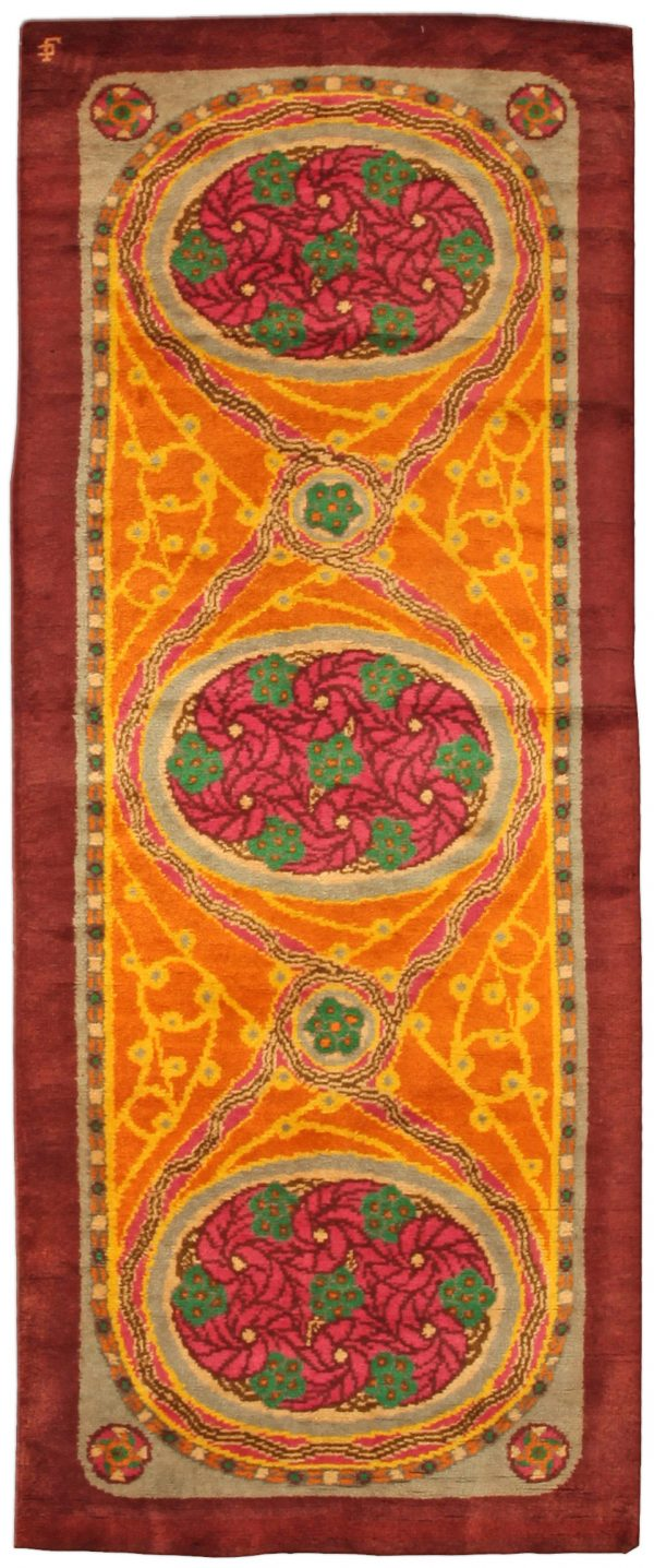 Vintage French Deco Rug BB4849