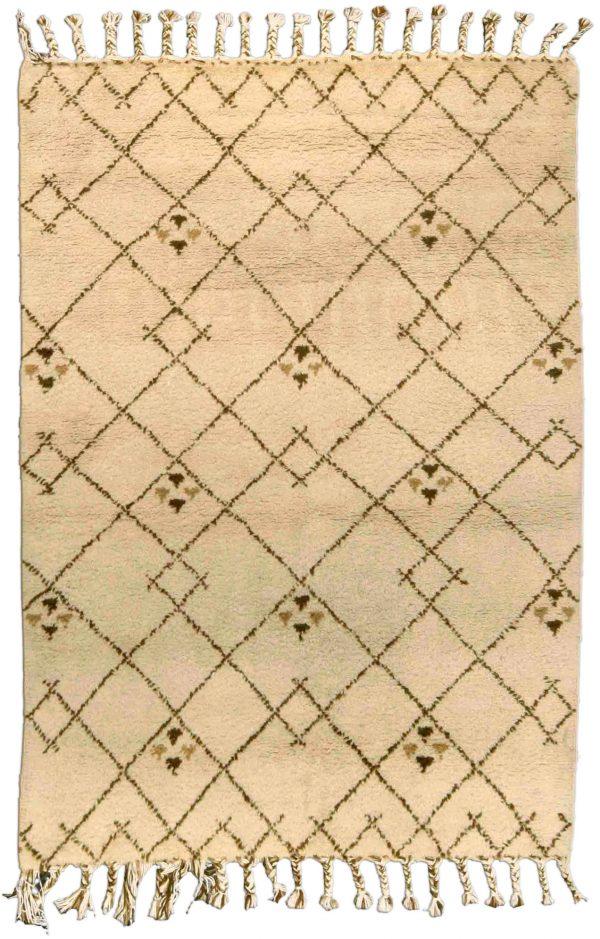 Vintage Moroccan Rug BB4565